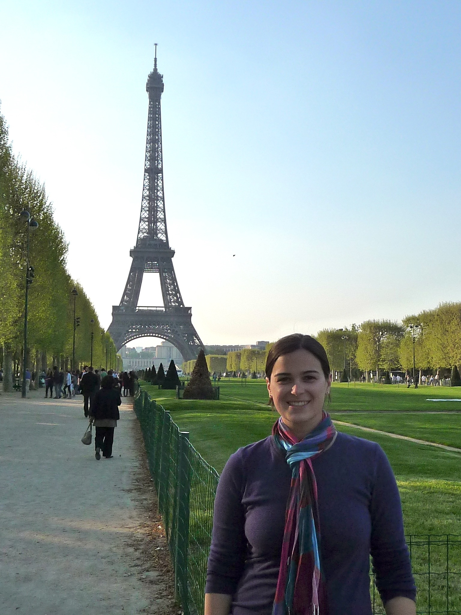 Elysia and the Eiffel Tower