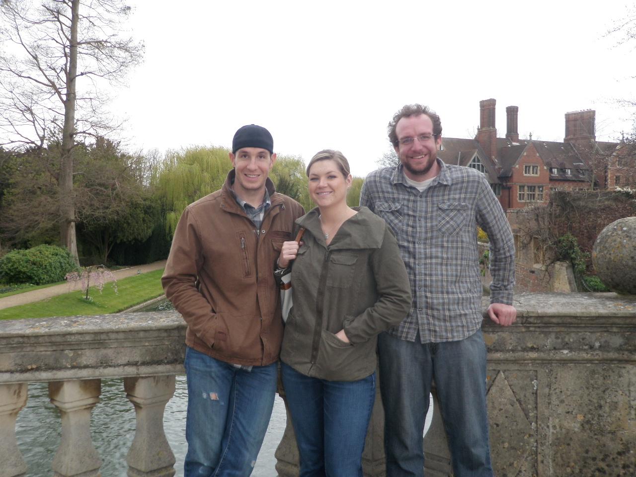 Eliot, Kristine and Jachin