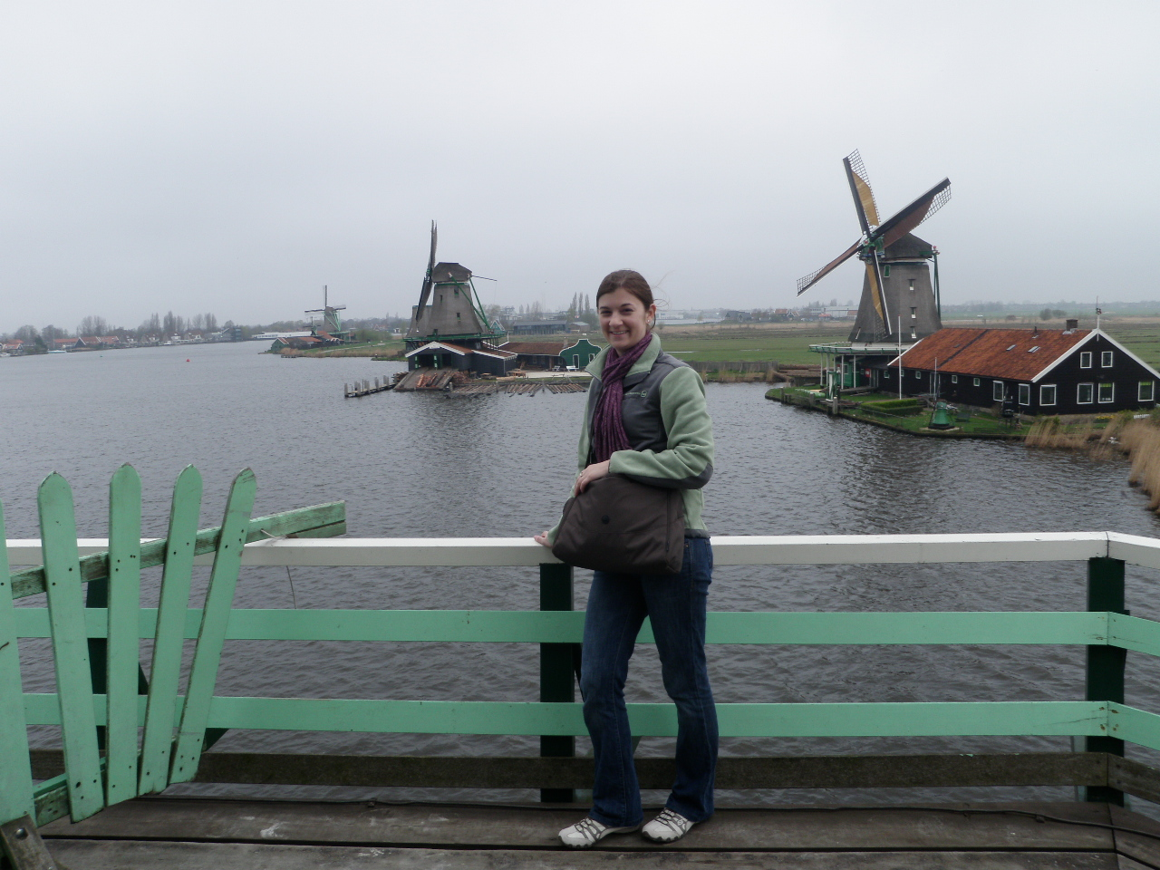Heather with some Windmills